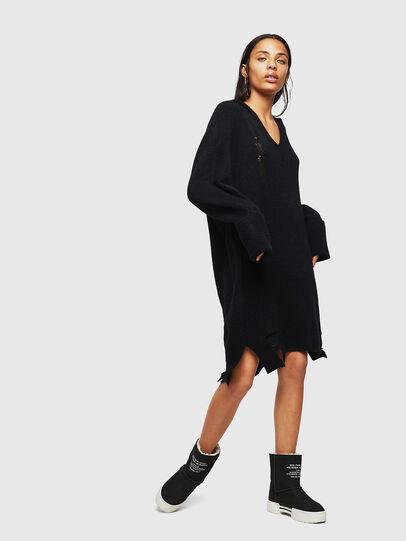 Diesel - M-NOELIA, Black - Knitwear - Image 1