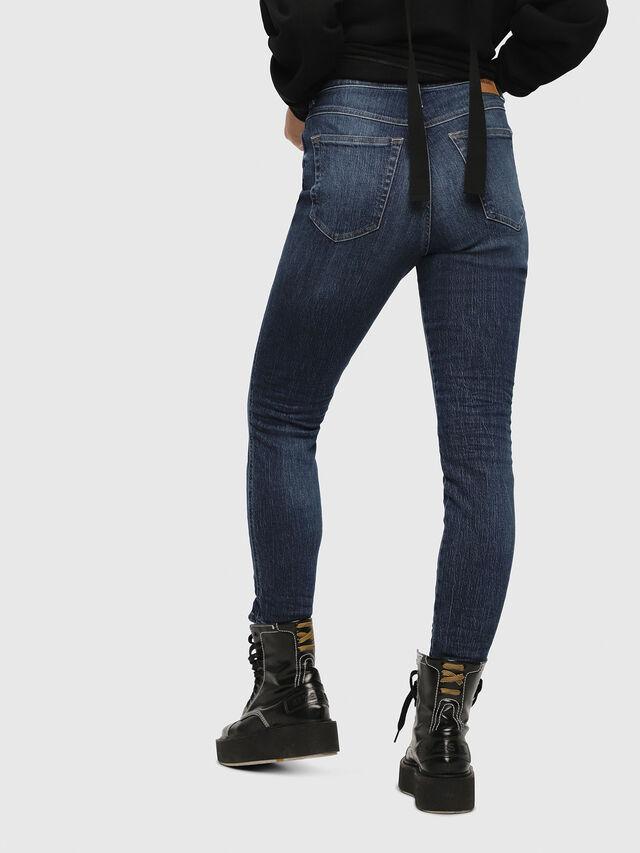 Diesel - Babhila High 089AH, Dark Blue - Jeans - Image 2