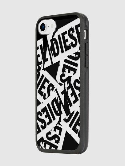 Diesel - MULTI TAPE BLACK/WHITE IPHONE 8/7/6S/6 CASE, Black - Cases - Image 5