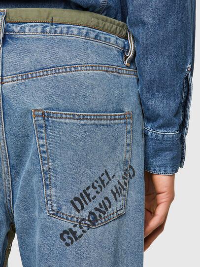 Diesel - DxD-P2 0CBBI, Light Blue - Jeans - Image 4