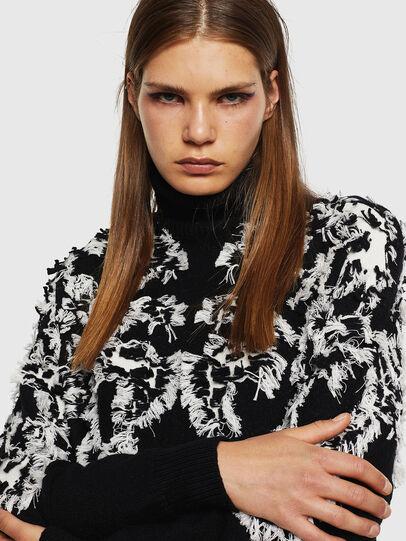 Diesel - M-CV-FURS, Black - Knitwear - Image 3