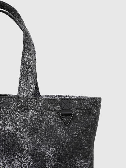 Diesel - D-THISBAG SHOP MB, Gray/Black - Shopping and Shoulder Bags - Image 6