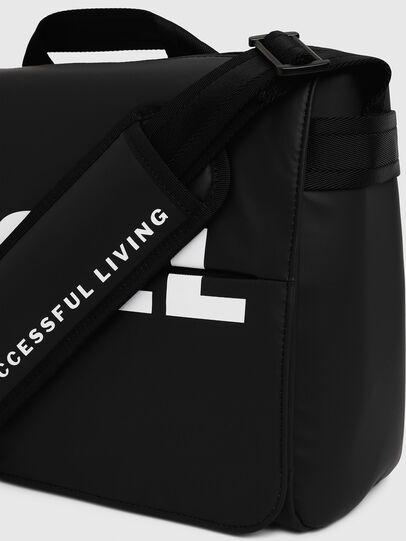 Diesel - F-BOLD MESSENGER II, Black - Crossbody Bags - Image 4