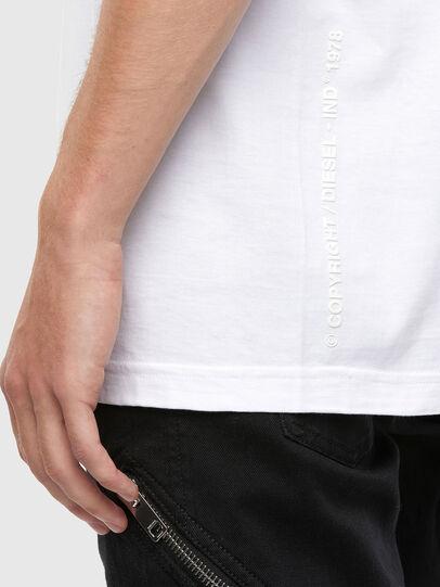 Diesel - T-TUBOLAR-N4, White - T-Shirts - Image 4