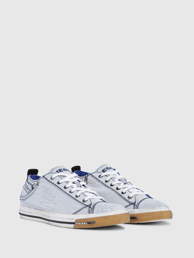 Diesel - EXPOSURE LOW I, Light Blue - Sneakers - Image 2