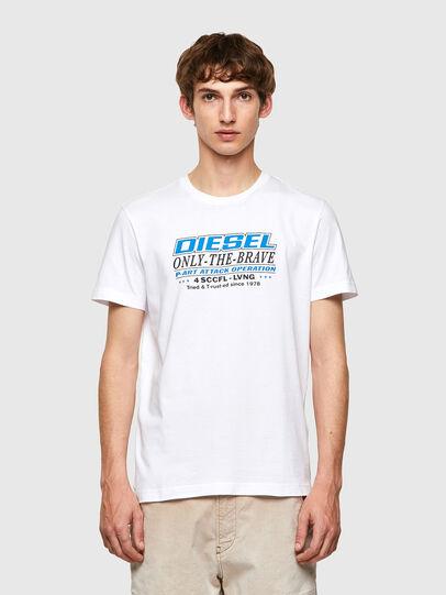Diesel - T-DIEGOS-K20, White - T-Shirts - Image 1