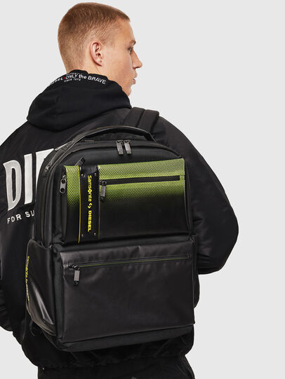 """Diesel - """"KB1*19001 - OPENROA, Black/Yellow - Backpacks - Image 8"""