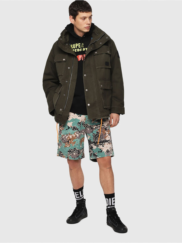 Diesel - J-TOUCHA, Military Green - Jackets - Image 7