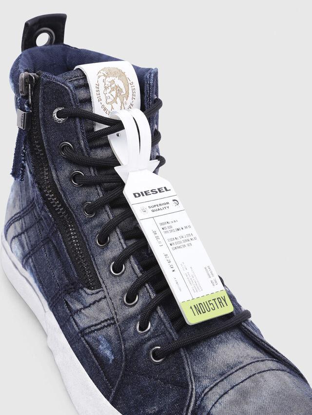 Diesel - D-VELOWS MID LACE, Black/Blue - Sneakers - Image 4
