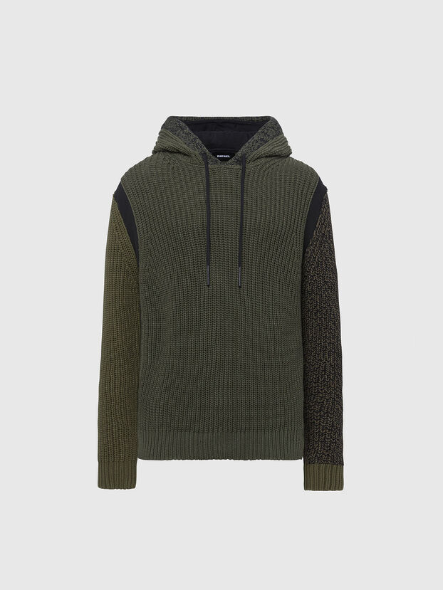 K-CAREY, Military Green - Knitwear