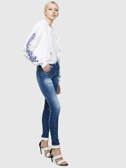 Diesel - Slandy 009IG, Medium blue - Jeans - Image 6