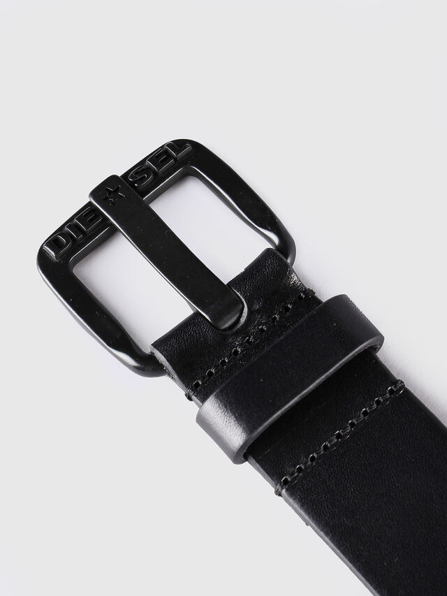 Diesel - B-STAR, Black Leather - Belts - Image 2