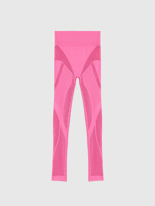 UFLB-LEGGINGS-SML, Pink - Pants