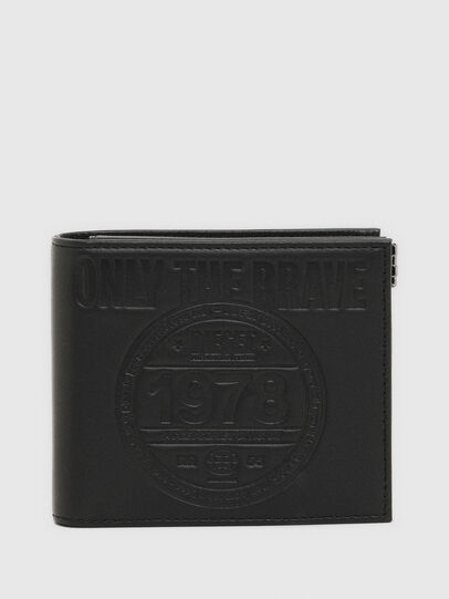 Diesel - HIRESH S MC, Black - Small Wallets - Image 1
