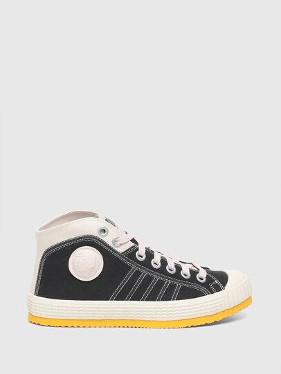 Diesel - S-YUK MC W, Black/Yellow - Sneakers - Image 1