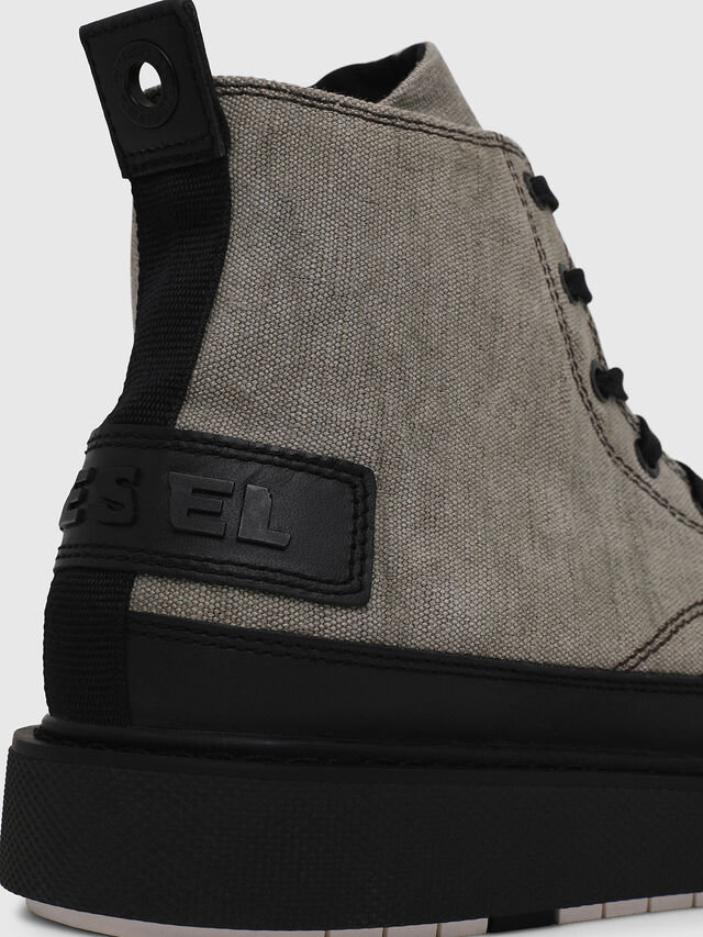 Diesel - H-CAGE DBB, Gray/Black - Boots - Image 4