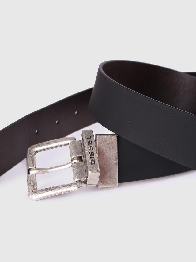 Diesel - B-DOUBLEC, Black/Brown - Belts - Image 3