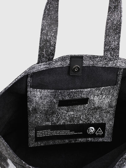 Diesel - D-THISBAG SHOP MB, Gray/Black - Shopping and Shoulder Bags - Image 4
