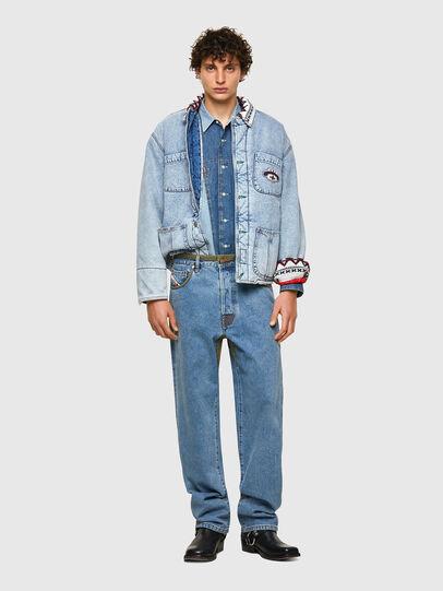 Diesel - DxD-P2 0CBBI, Light Blue - Jeans - Image 5