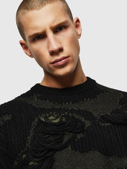 Diesel - K-MUSCHIO, Black - Knitwear - Image 3