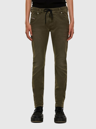 Diesel - Krailey JoggJeans 0670M, Military Green - Jeans - Image 1