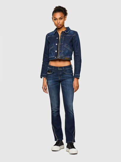 Diesel - DE-BLONDY, Dark Blue - Denim Jackets - Image 6