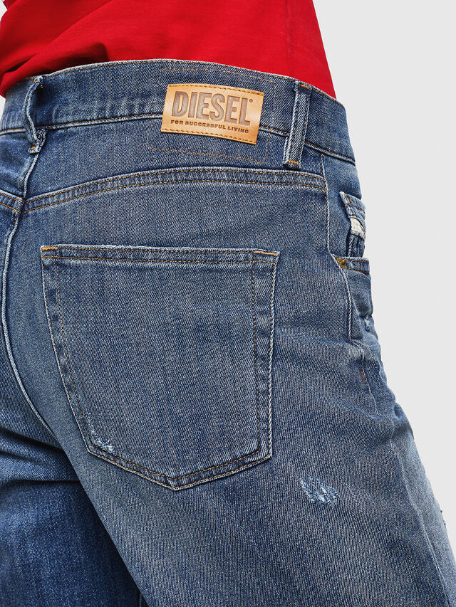 Diesel - Aryel 0890X, Medium blue - Jeans - Image 4