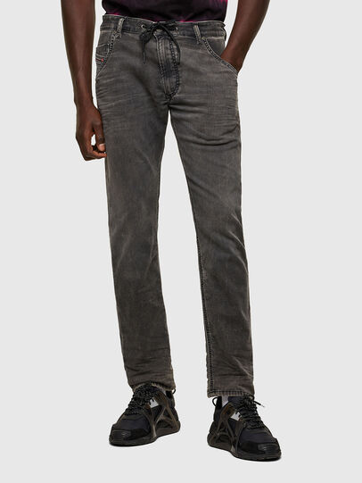 Diesel - Krooley JoggJeans® 069SY, Black/Dark grey - Jeans - Image 1