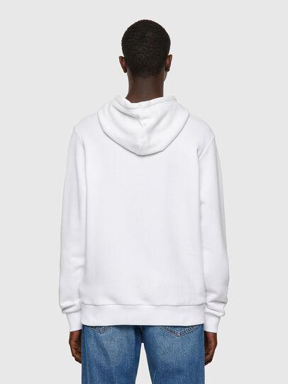 Diesel - S-GIRK-HOOD-B1, White - Sweaters - Image 2