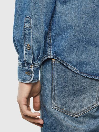 Diesel - D-BER-P, Blue Jeans - Denim Shirts - Image 4