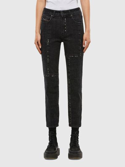Diesel - D-Joy 009KY, Black/Dark grey - Jeans - Image 1