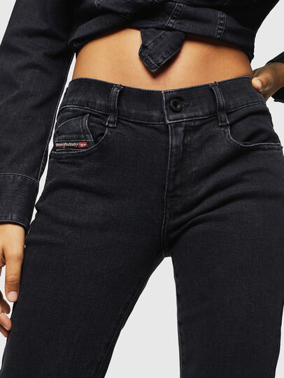 Diesel - D-Ebbey 0870G, Black/Dark grey - Jeans - Image 4