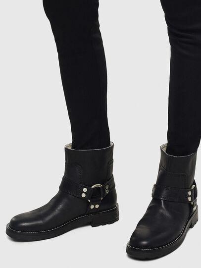 Diesel - D-THROUPER AB W, Black - Ankle Boots - Image 6