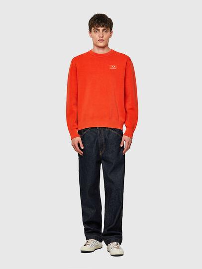 Diesel - K-JERSEY, Orange - Knitwear - Image 4