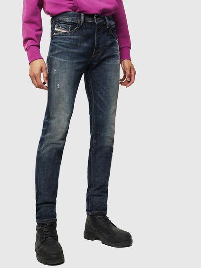 Diesel - Thommer 0096U, Dark Blue - Jeans - Image 1