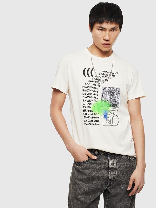 T-DIEGO-S11, White - T-Shirts