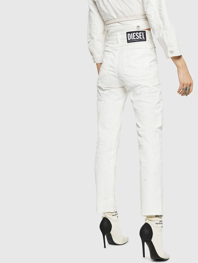 Diesel - D-Eiselle 069IJ, White - Jeans - Image 2