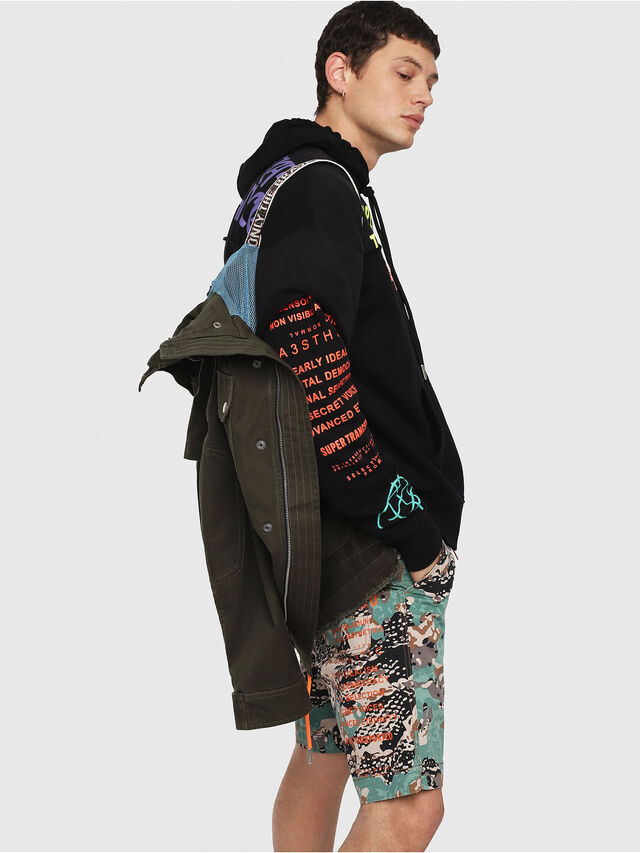 Diesel - J-TOUCHA, Military Green - Jackets - Image 4