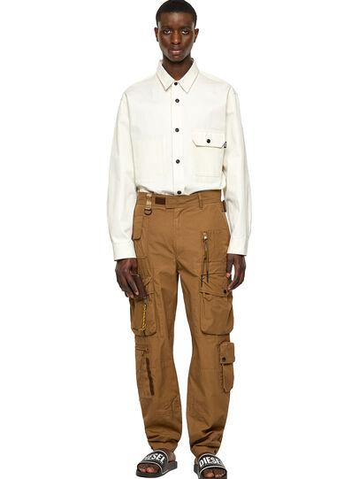 Diesel - P-GAGE, Light Brown - Pants - Image 7