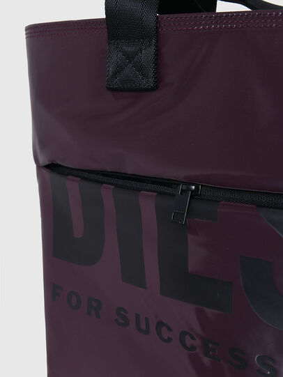 Diesel - F-BOLD SHOPPER III, Dark Violet - Shopping and Shoulder Bags - Image 5