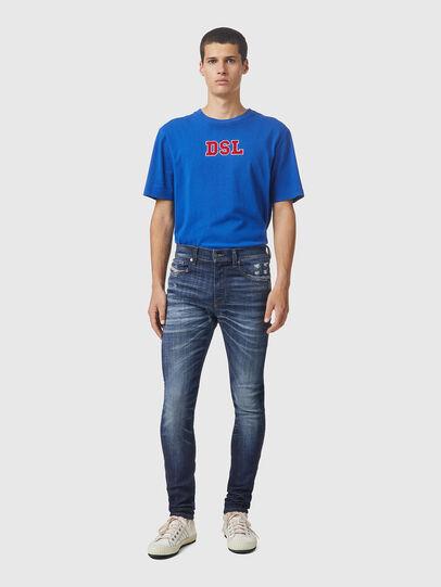 Diesel - D-Amny 09A85, Dark Blue - Jeans - Image 5