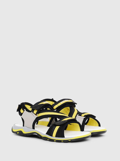 Diesel - SA 07 STRIPE CH, Gray/Black - Footwear - Image 2