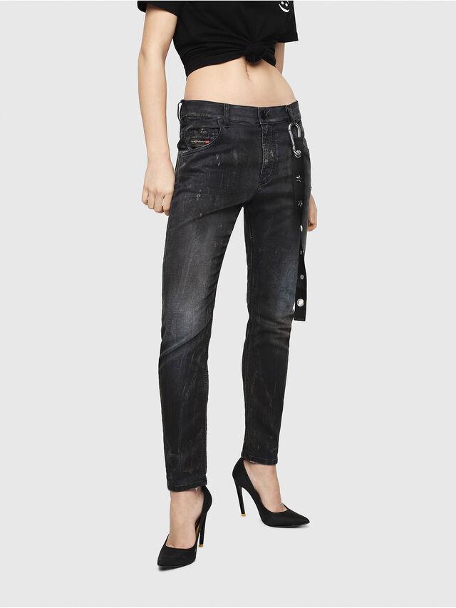 Diesel - Krailey JoggJeans 069IA, Black Jeans - Jeans - Image 1
