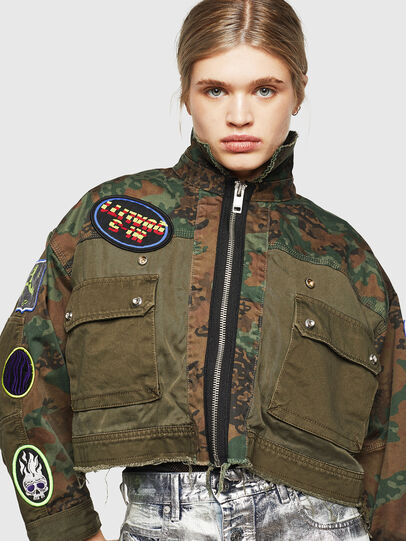 Diesel - G-ANAPAY, Military Green - Jackets - Image 5