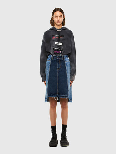 Diesel - DE-PAU-SP, Medium blue - Skirts - Image 6