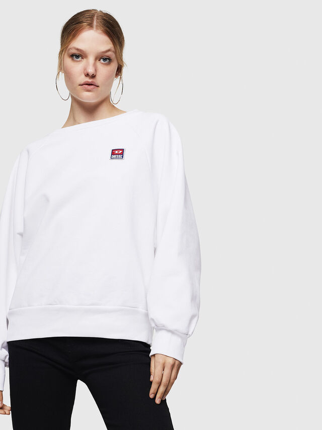 Diesel - F-HENNY-E, White - Sweaters - Image 4