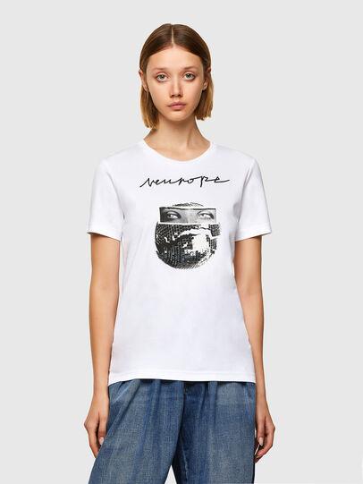 Diesel - T-LYS, White - T-Shirts - Image 1