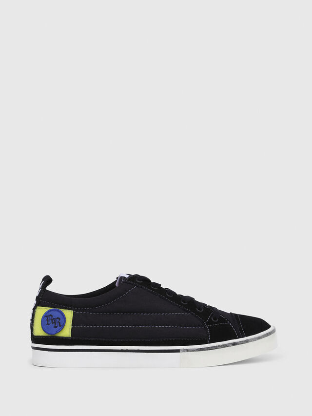 Diesel - D-VELOWS LOW PATCH, Black - Sneakers - Image 1