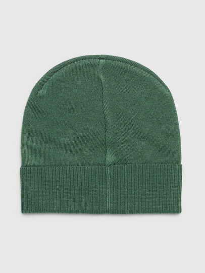 Diesel - K-BECKY-B, Dark Green - Knit caps - Image 2