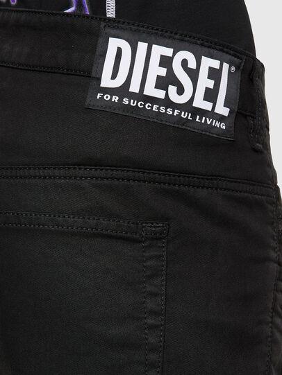 Diesel - FAYZA JoggJeans® 069NC, Black/Dark grey - Jeans - Image 4